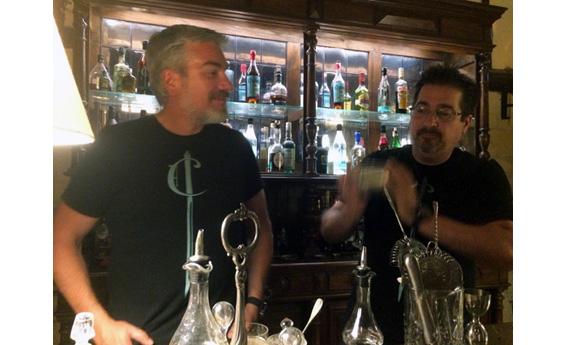 César Kuberek et Gianni Vietina