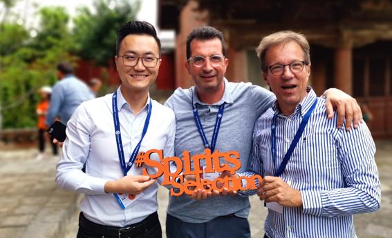 Marc Darroze en Chine