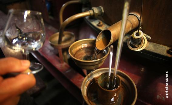 Alambic distillation